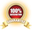 100% satisfaction gurantee logo